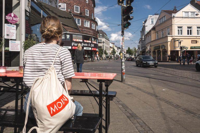 MOIN Beutel im Bremer Viertel