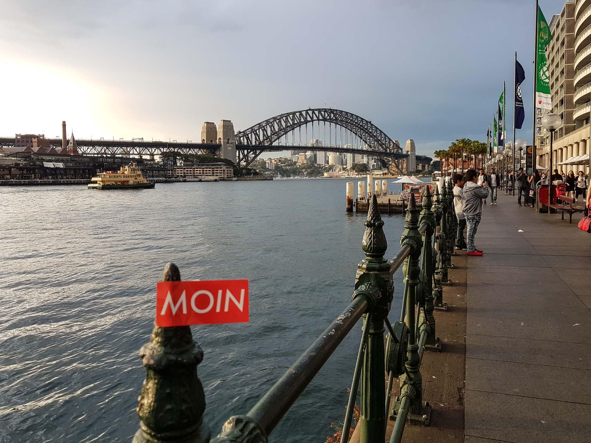 MOIN aus Sydney