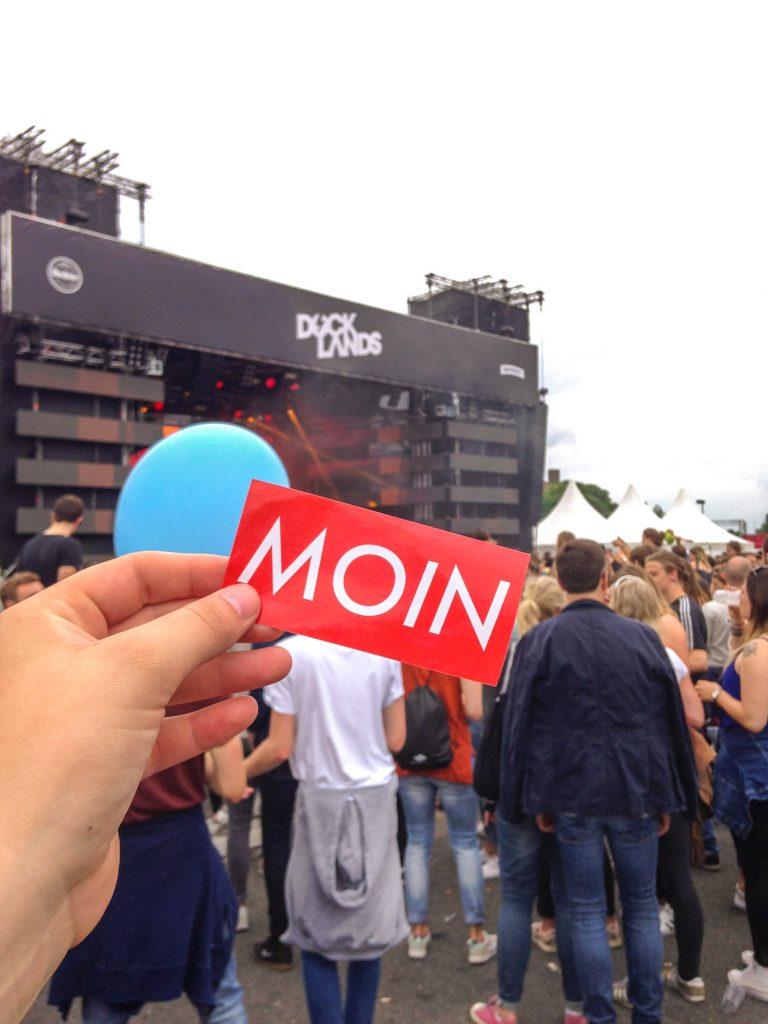 MOIN vom Docklands Festival 2017 in Münster