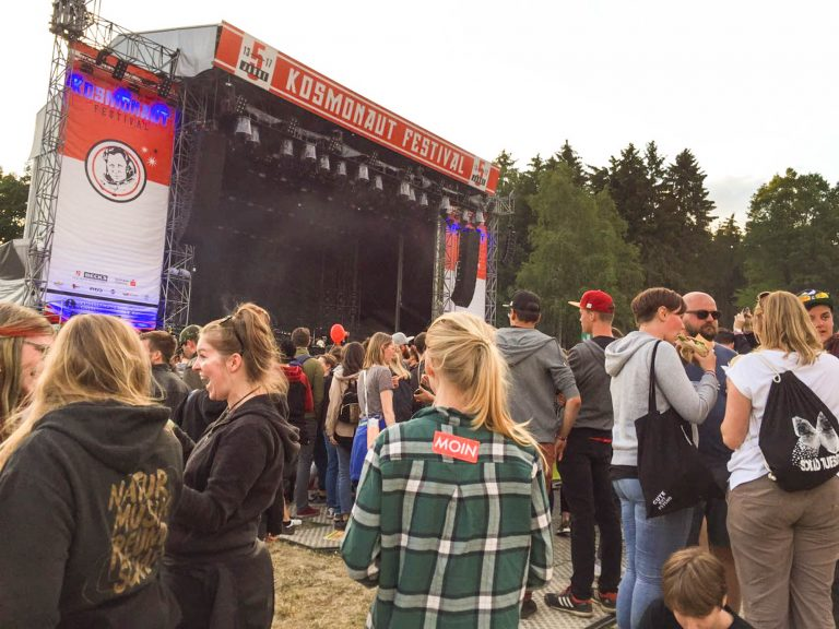 MOIN vom Kosmonaut Festival