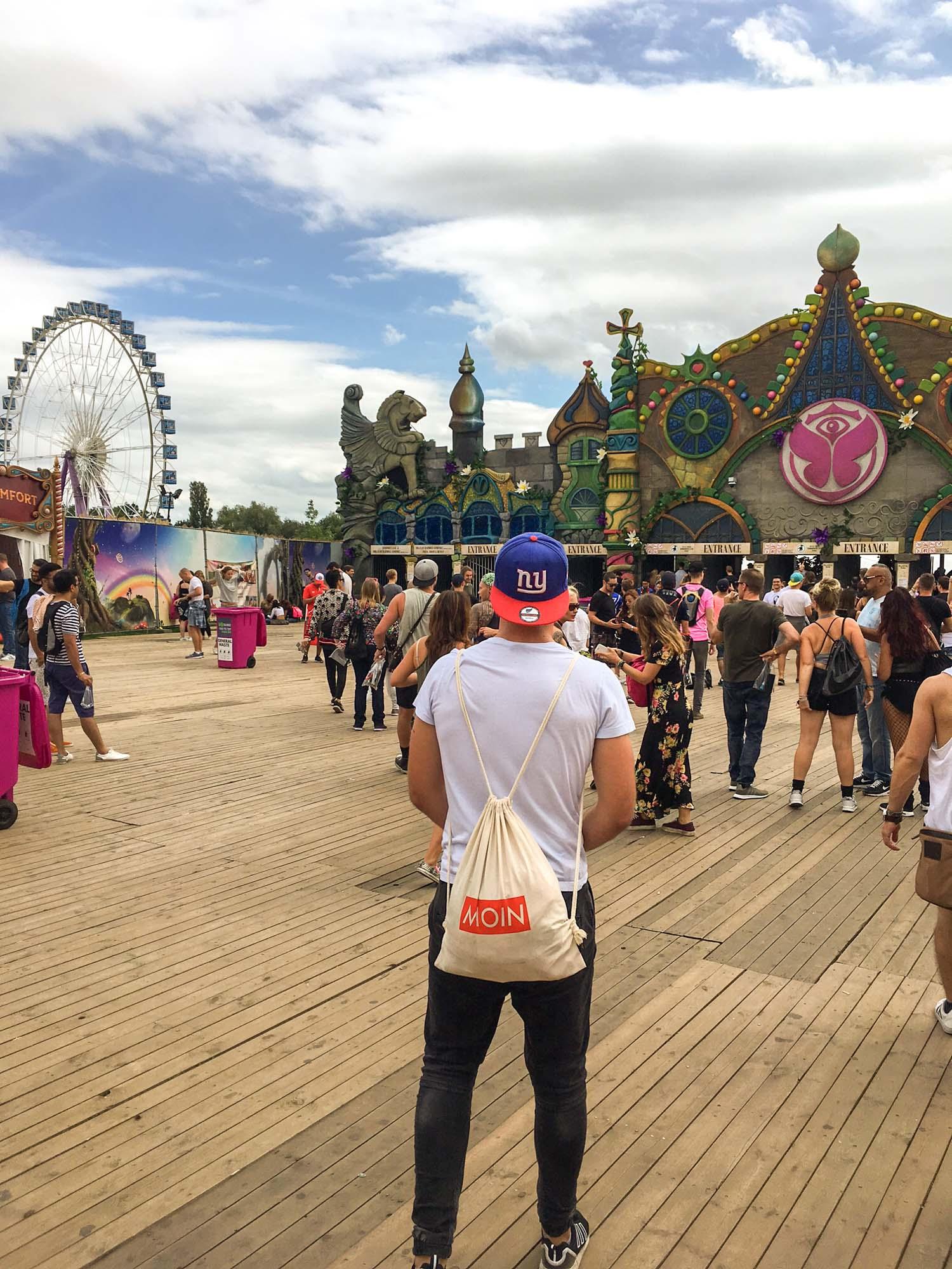 MOIN vom Tomorrowland Festival