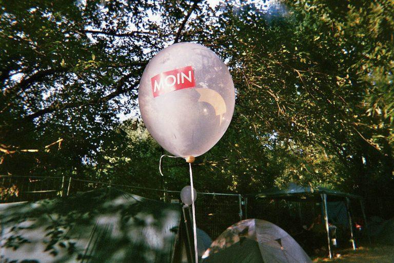 MOIN Ballon aufm MS Dockville Festival Hamburg