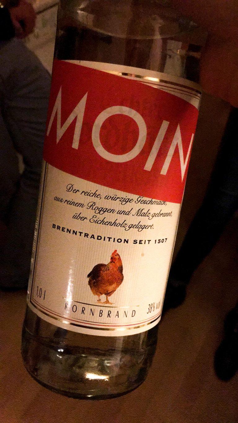 MOIN Korn Flasche