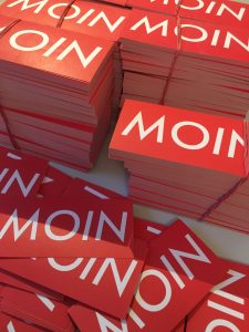 MOIN Sticker