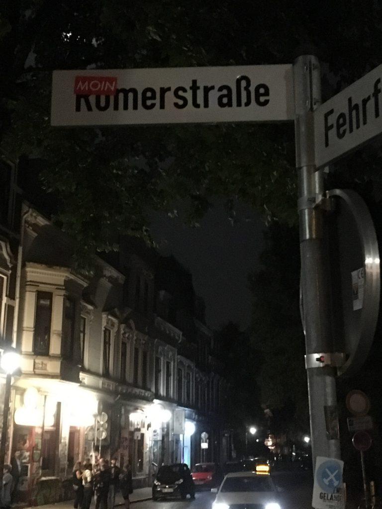 MOIN Sticker im Viertel Bremen