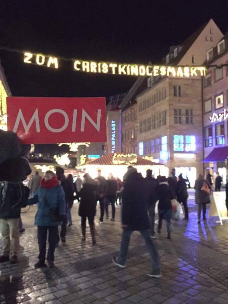 MOIN Sticker in Nürnberg