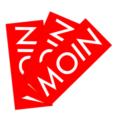 MOIN Sticker Paket