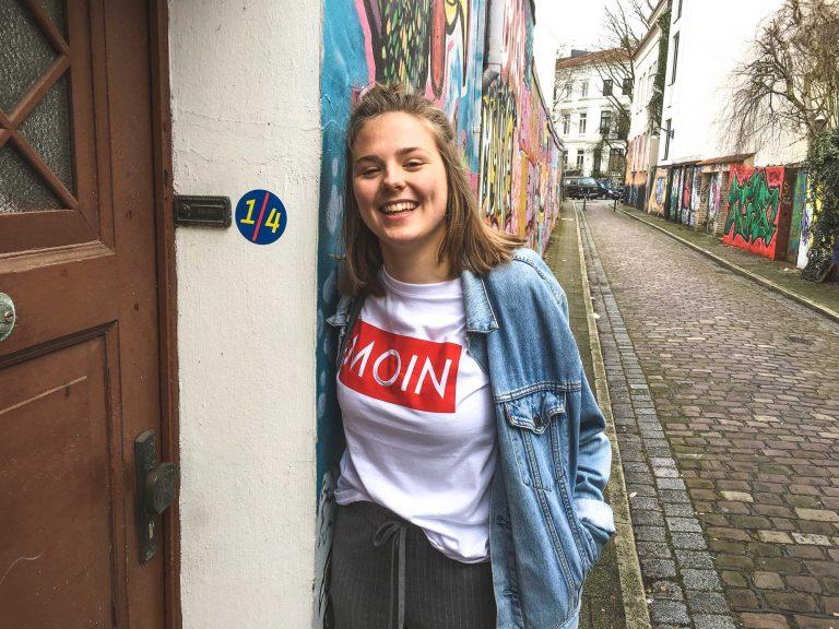 MOIN Shirt im Bremer Viertel