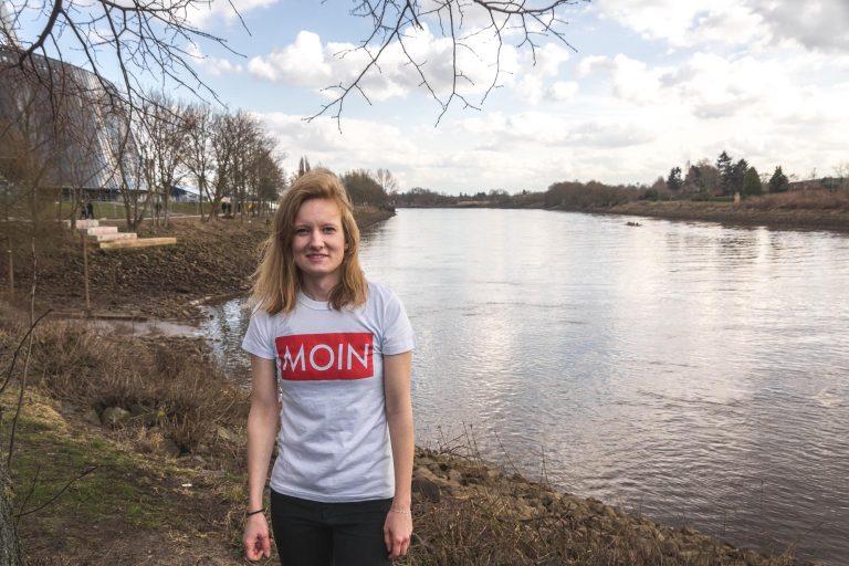 MOIN Shirt an der Weser