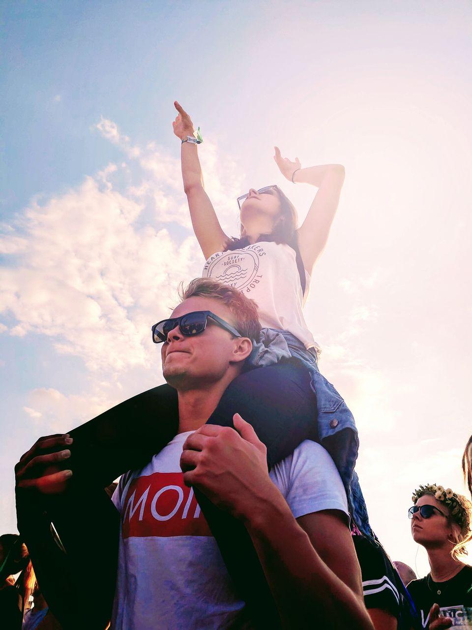MOIN Moment auf dem Lollapalooza Festival in Berlin